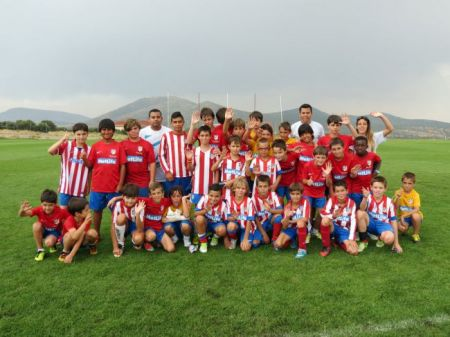 Atletico Madrid Foundation camp - Football Camps