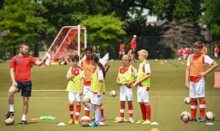 Arsenal Soccer Schools Overnight Camp (New Jersey & Connecticut) -