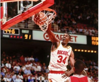 Hakeem Olajuwon City of Birmingham Basketball Summer Camp -