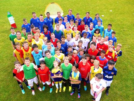 Bobby Charlton Soccer Schools - 7-Day Residential Camp - Football. - Football Camps