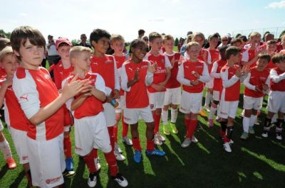 Arsenal Soccer Schools - 5 Day Course Market Road Football Pitches - Football Schools