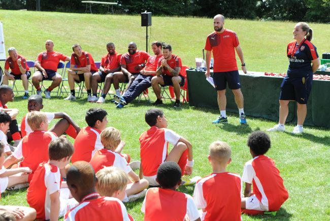 Arsenal Soccer Schools - Advanced Residential Course - Football Camps