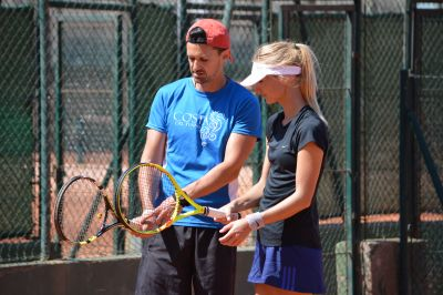 Adult Tennis Camp in Barcelona -