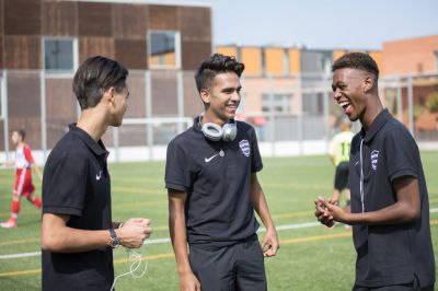 Kaptiva Sports Boys RESIDENTIAL FOOTBALL Camps in Barcelona, Spain -