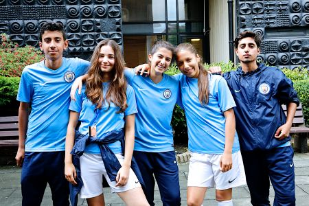Manchester City Football Language School Teens -