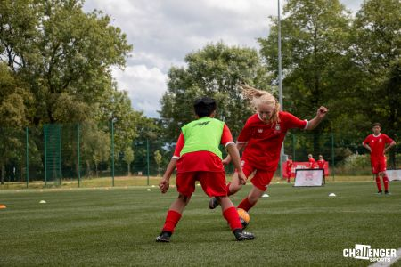 Liverpool FC Girls Football Focus - Football Camps