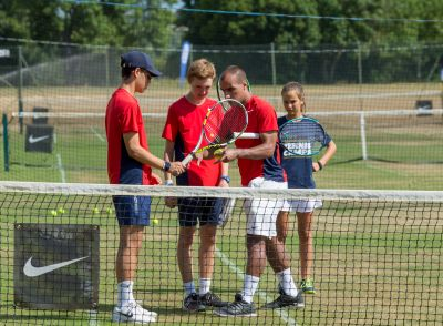 Nike Tennis Camp at Lancing College -