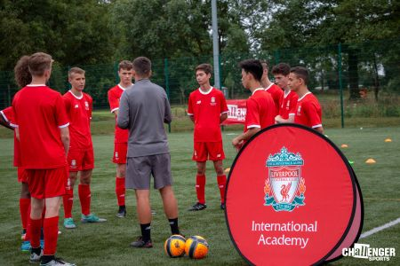 Liverpool FC I CAN LEAD and Football Program - Football Camps