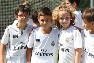 REAL MADRID FOUNDATION HALF DAY SOCCER CAMPS -