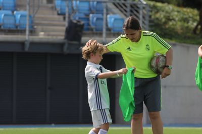 REAL MADRID FOUNDATION SOCCER DAY CAMP -