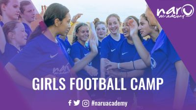 NARU Academy Girls Football Camp - Day Camp - Football Camps