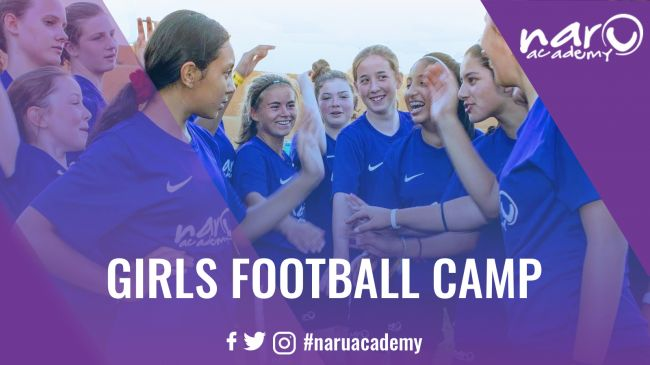 NARU Academy Girls Football Camp - Residential - Football Camps