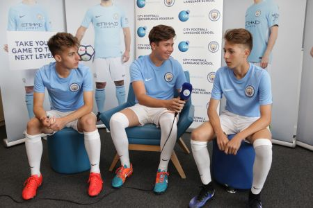 Manchester City Football Language School Juniors -
