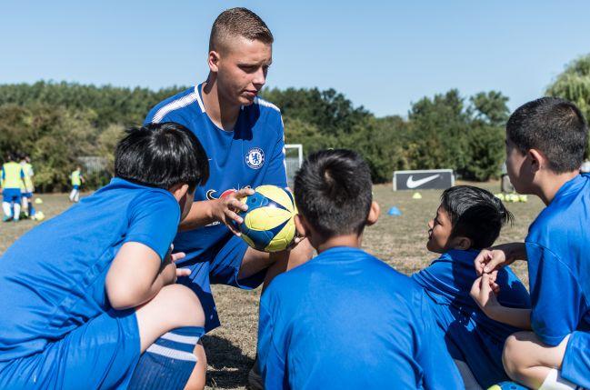 Chelsea FC Foundation Soccer School - Advanced Programme - Football Schools